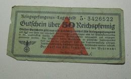 1939 ND - Allemagne - Germany - Gutschein über 50 REICHSPFENNIG - [ 4] 1933-1945 : Terzo  Reich