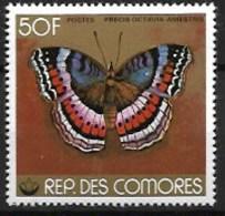 COMORES 1978 BUTTERFLIES,  MNH - Schmetterlinge