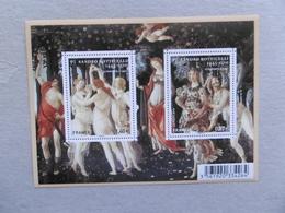 2010  F4518  P4518/4519 * *   SANDRO BOTTICELLI - Blocs & Feuillets