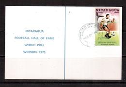 World Cup-1970, Nicaragua, Football, Soccer, Fussball,calcio, F.Beckenbauer - 1970 – Mexique