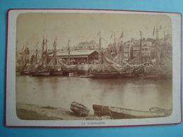 14 - TROUVILLE - Photo Cartonnée 11cm X 16cm -La Poissonnerie - CIRCA 1900 - Trouville