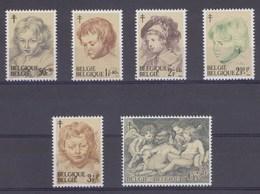 1963 Nr 1272-77** Zonder Scharnier.Tuberculosebestrijding,P.P.Rubens. - Belgien