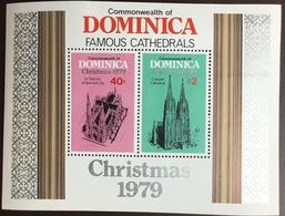 Dominica 1979 Christmas Minisheet MNH - Dominica (1978-...)