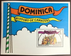 Dominica 1978 Carnival Minisheet MNH - Dominica (...-1978)