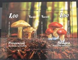 Bosnia And Hercegovina, 2020, Mushrooms, Block (MNH) - Paddestoelen