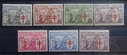 BELGIE 1934    Nr.  394 - 400      Postfris **   CW  600,00 - Belgien