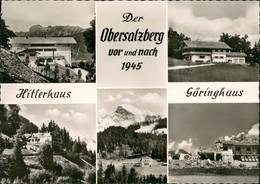 Ansichtskarte Berchtesgaden Obersalzberg Vor Und Nach 1945 1956 - Berchtesgaden