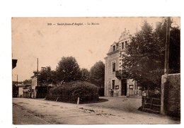 Saint Jean D'Anglet. La Mairie. Carte écrite 1904. - Anglet