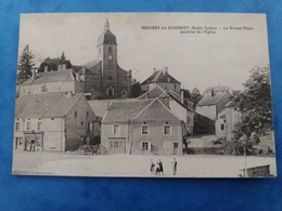 Breurey Les Faverney La Grand Place Quartier De L'église  Haute Saône Franche Comté - Altri Comuni