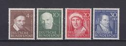 BRD - 1951 - Michel Nr. 143/146 - Ungebr. - 65 Euro - Unused Stamps