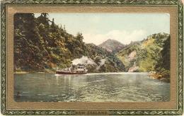"""New Zealand.The Wangani River""  Tuck Framed Gem Glosso Ser.PC # 739 - Tuck, Raphael"