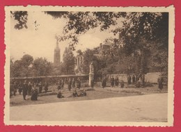 Arlon - Pensionnat Notre-Dame , Rue Jos Netzer - Un Coin Du Jardin - 1937 ( Voir Verso ) - Arlon