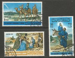 Jordan - 1966 Chrisrmas CTO    Sc 533-5 - Jordanië