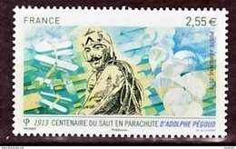 France PA  76 Adolphe Pegoud  Neuf ** TB MNH Sin Charnela Faciale 2.55 - 1960-.... Nuovi