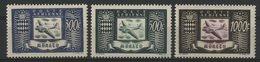 MONACO POSTE AERIENNE N° 42 à 44 Cote 250 € Neufs ** (MNH). Série Complète. TB - Airmail