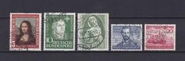 BRD - 1952 - Michel Nr. 148/152 - Gest. - 50 Euro - BRD