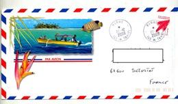 Lettre Cachet Pirae Sur - Polynésie Française