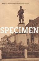 Monument Aux Soldats Morts Pour La Patrie - Blaton - Bernissart