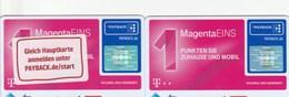 Germany  - Loyality Card - Payback - 1 Magneta - 16002524(Hauptkarte+Zusatzkarte) - Other