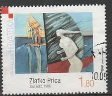 PIA - CROAZIA - 2009 -  Pittori Croati Moderni  - (Yv 866-68) - Moderni