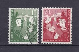 BRD - 1952 - Michel Nr. 153/154 - Gest. - 45 Euro - BRD