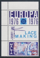 Malta 1976 Mi 532 YT 527 SG 562 ** Lace Making / Klöpplerinnen / Travaille De La Dentelle - Kunsthandwerk - Textil