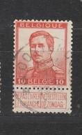 COB 118 Oblitération Centrale OOSTENDE 1M - 1912 Pellens