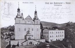 Zuckmantel Used Postcard From 1905 - Czech Republic