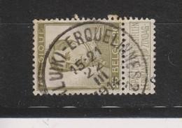COB 119 Oblitération Centrale Ambulant LIEGE-ERQUELINNES 2 - 1912 Pellens