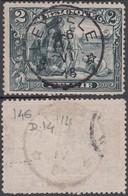 Belgique - COB N°146 Oblitération Centrale Du Bureau Relais De LEYSELE. Superbe ! (RD416) DC5929 - 1915-1920 Albert I