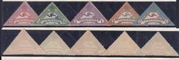 France - 5 Timbres Semi-officiels ** Du Meeting Aérien De Vincennes 9 Juin 1924 (RD449) DC5962 - Airmail