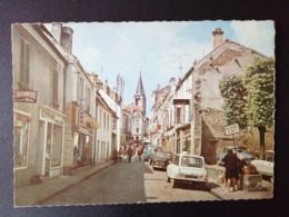 CPSM 77 Brie-Comte-Robert La Rue De L'Eglise - Brie Comte Robert
