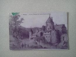 CARTE POSTALE DE  WASSY. Haute Marne. Ancien Château De MARIE STUART. (gravure) - Wassy
