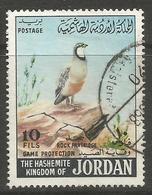 Jordan - 1968 Partridge 10f Used   Sc 553 - Jordan