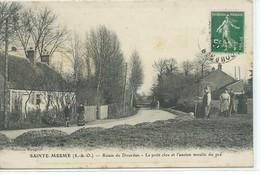 Sainte-Mesme-Route De Dourdan-Le Petit Clos Et L'ancien Moulin Du Pré - France