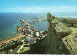 Alicante Belle Vue Du Port Depuis Le Château Fort - Alicante
