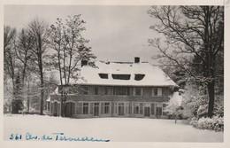 PHOTOCARTE Du 361 Avenue De Tervueren à Woluwé Saint Pierre , Bruxelles , Grosse Villa Sous La Neige 1947 - Woluwe-St-Lambert - St-Lambrechts-Woluwe