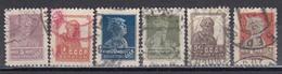 USSR 1925 - Freimarken, Mi-Nr. 275IAX; 279IAX; 280IAXa; 284IA; 287IA; 288IA, Used - 1923-1991 UdSSR