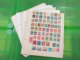 LOT N° E 109  SUISSE Saar Allemagne Etc....  Collection Sur Page D'albums Neufs Ou Obl - Francobolli