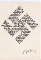"""III. Reich, """" Das Hakenkreuz """" Von Prof. Petrus Mayrhofer, Gedicht Von Ottokar Kernstock - Guerre 1939-45"""
