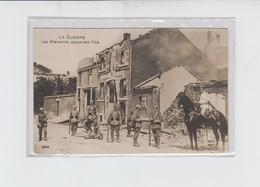 VISE - PHOTO  - LES ALLEMANDS OCCUPENT VISE - GUERRE 1914-1918 -  ECRITE - Visé
