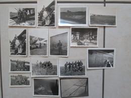 Lot De Photo (avions +aviateurs) - Aviation
