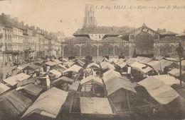 Lille LP 64 Les Halles Un Jour De Marché Rare TBE - Lille