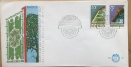 Nederland FDC 235 - Yvert 1262#1263 - 1986 - Europa Natuurbescherming - FDC