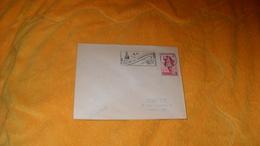 ENVELOPPE DE 1953...FLAMME AY FLEUR DU CHAMPAGNE...CACHET + TIMBRE - Storia Postale