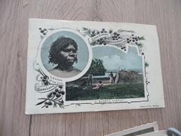 CPA Australie Australia Coupée En L'état A Queen's Castle Aborigènes - Aborigines