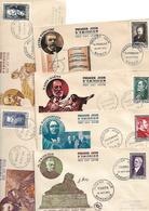 Premier Jour : Personnages Célèbres 1952 - Documents De La Poste