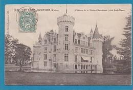 86 Vienne Les Trois Moutiers Chateau La Motte Mothe Chandeniers Chandenier Coté Sud Ouest Ed Dando Berry 1905 Taxe - Les Trois Moutiers