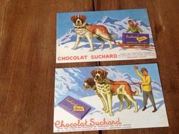 Buvards Chocolat Suchard - Chocolat