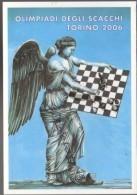Olimpiadi Scacchi Torino 2006 CPM - Olympiade D'échecs De 2006 à Turin CPM - Chess